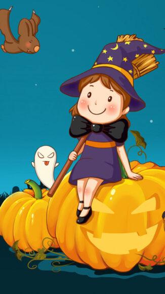 hình ảnh halloween dễ thương và đẹp nhất