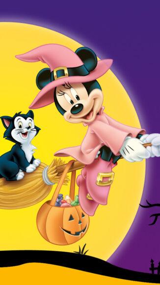 hình ảnh halloween dễ thương về chú chuột mickey