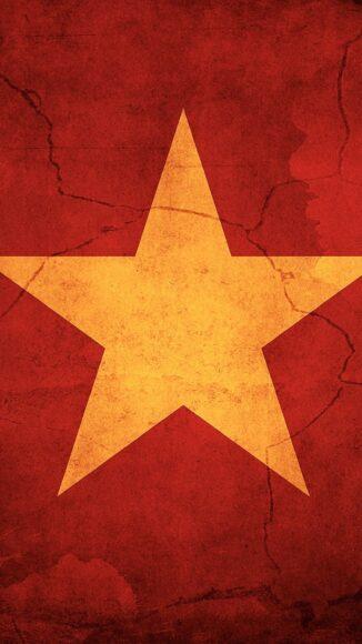 hình ảnh lá cờ Việt Nam - hình nền điện thoại cờ đỏ sao vàng