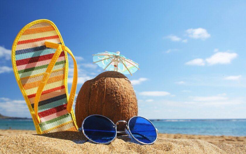 hình ảnh mùa hè mát mẻ nhất về bãi biển