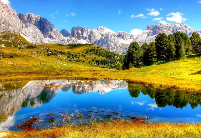 hình ảnh mùa thu về sông núi