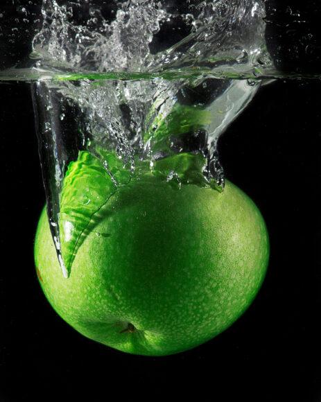 hình ảnh quả táo xanh