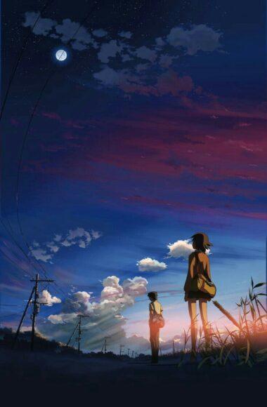 Hình ảnh tạm biệt buồn trong anime