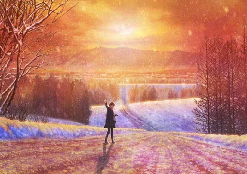 Hình ảnh tạm biệt mùa đông