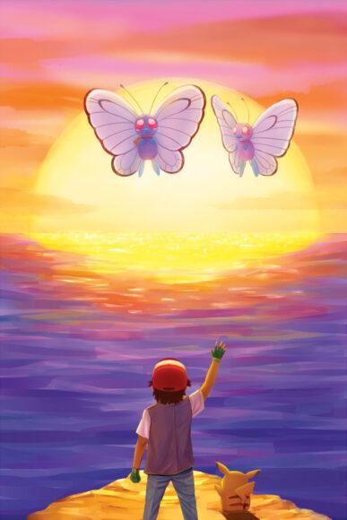 Hình ảnh tạm biệt trong pikachu