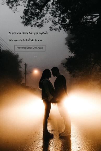 Hình ảnh thơ hay về tình yêu