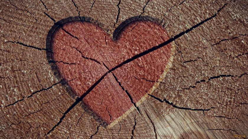 hình ảnh trái tim buồn cô độc