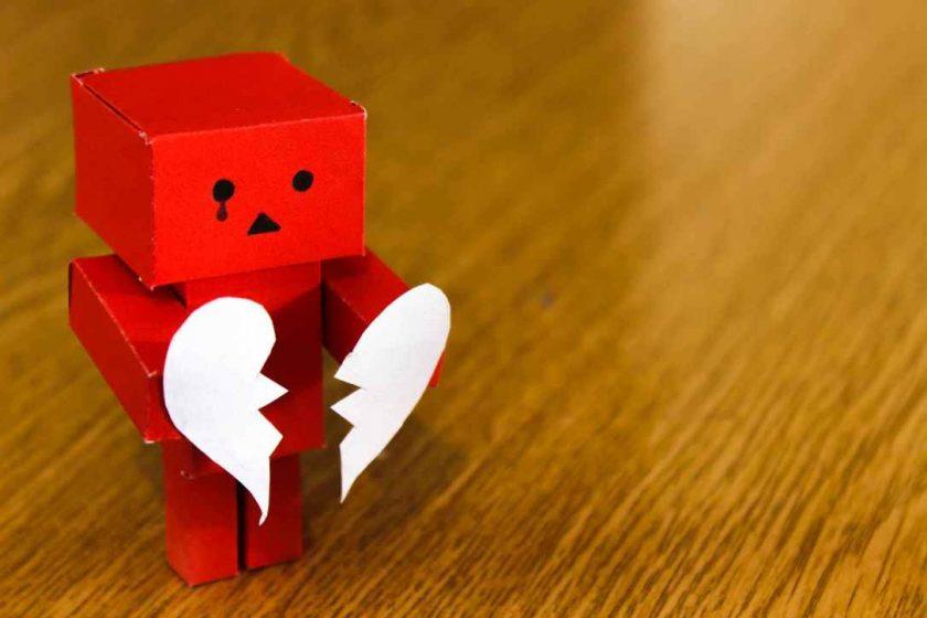 hình ảnh trái tim buồn đẹp