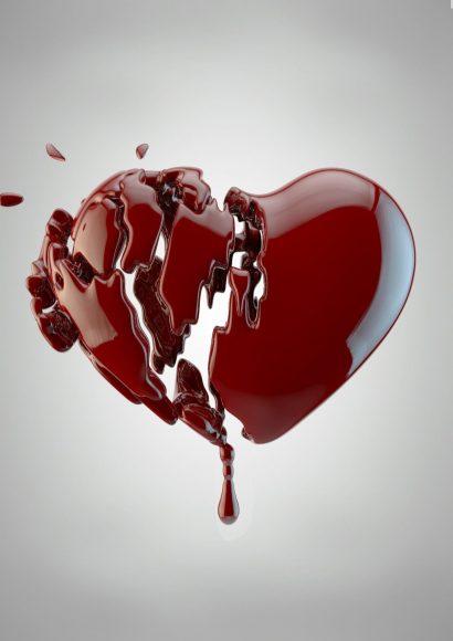 hình ảnh trái tim buồn full HD