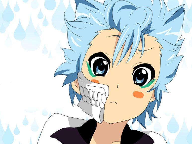 HÌnh anime tóc xanh dễ thương nhất