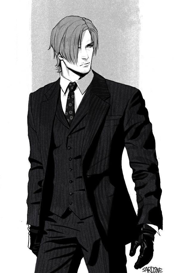 Hình anime trắng đen ngầu nhất