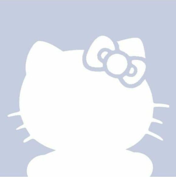 Hình Avatar Trắng hello kitty