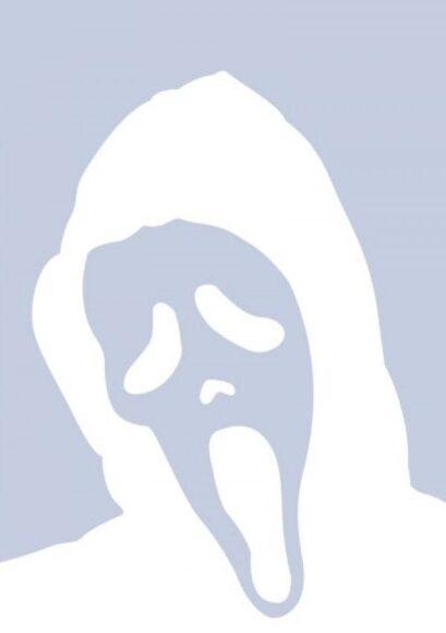 Hình Avatar Trắng hình con ma