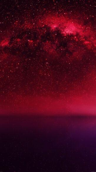 hình nền đỏ tím đẹp
