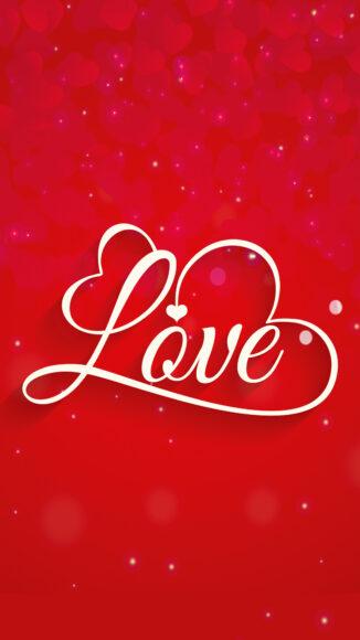 hình nền đỏ tươi về tình yêu