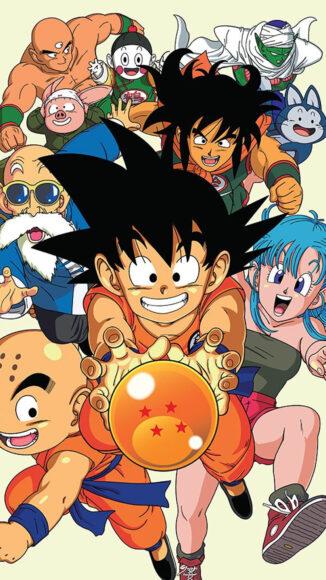 hình nền dragon ball songoku và những người bạn