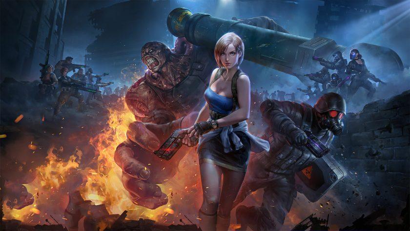 hình nền game 4k tay súng nữ chiến binh