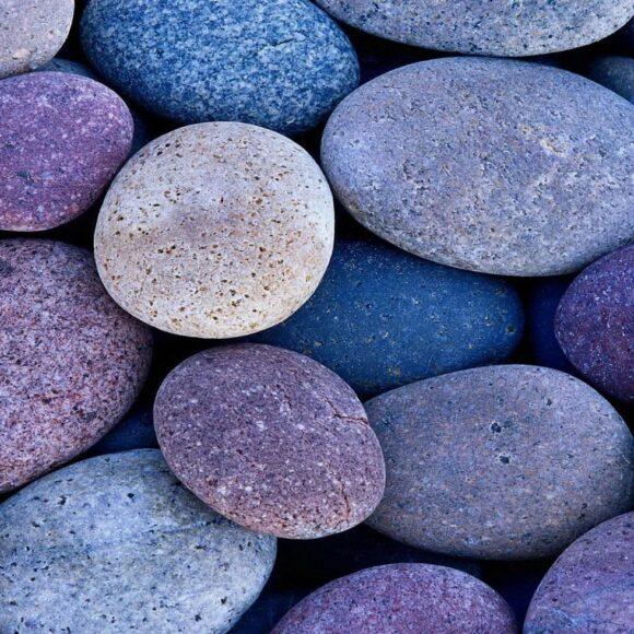 hình nền ipad đẹp về những viên sỏi sắc màu