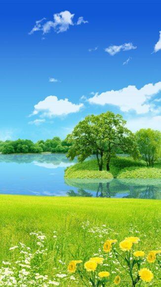 hình nền iPhone 6 Plus về thiên nhiên