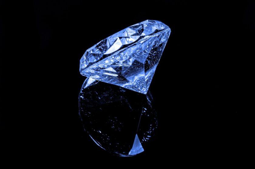 hình nền kim cương màu xanh may mắn cho mệnh thủy