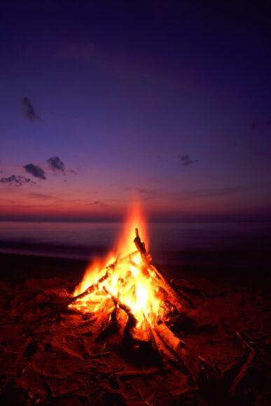 hình nền lửa dành cho điện thoại