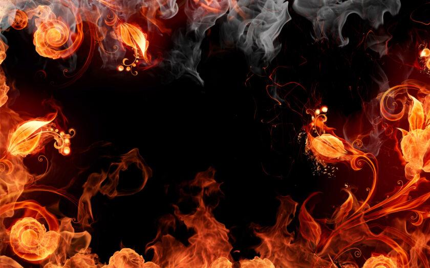 hình nền lửa đẹp nhất