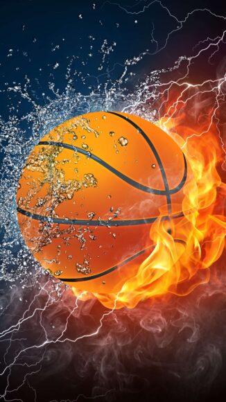 hình nền lửa về quả bóng