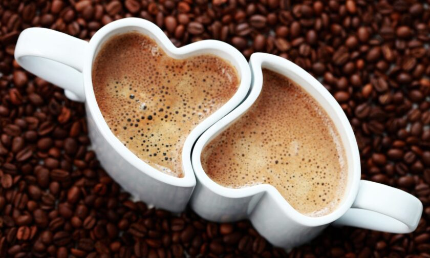 hình nền macbook về ly cà phê