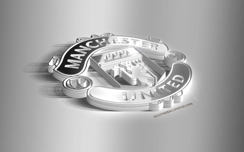 hình nền manchester united logo 3D đẹp nhất