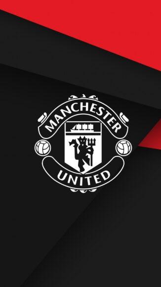 hình nền manchester united màu đỏ đen