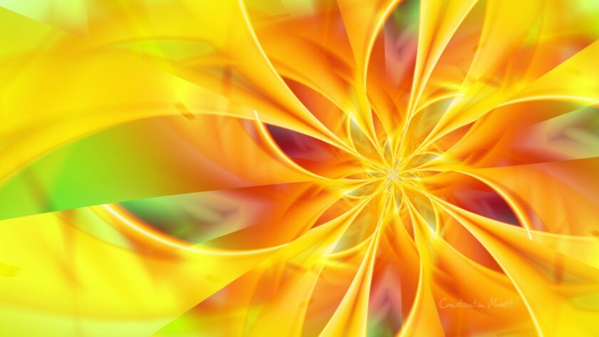 hình nền màu vàng đẹp 3D