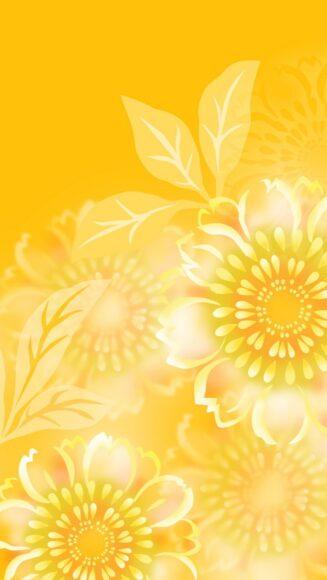 hình nền màu vàng đẹp cho điện thoại