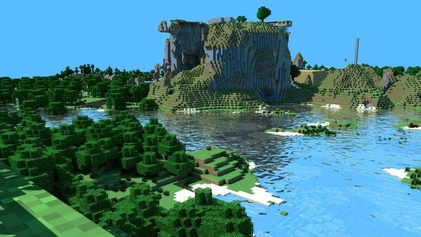 hình nền Minecraft full HD cho máy tính