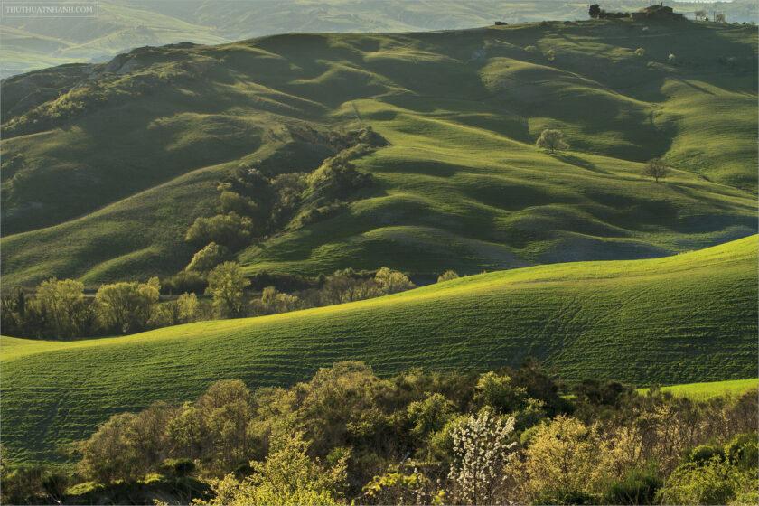 hình nền thiên nhiên đồi cỏ xanh cho máy tính