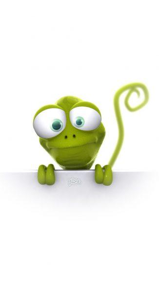 hình nền vui nhộn về con ếch