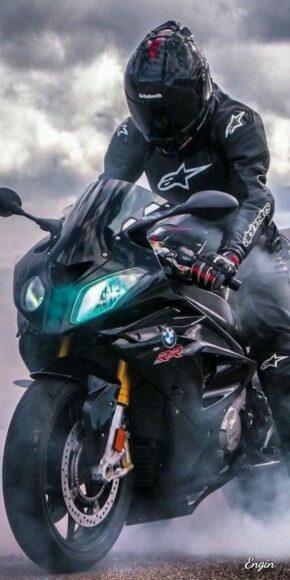 hình nền xe moto đen lịch lãm