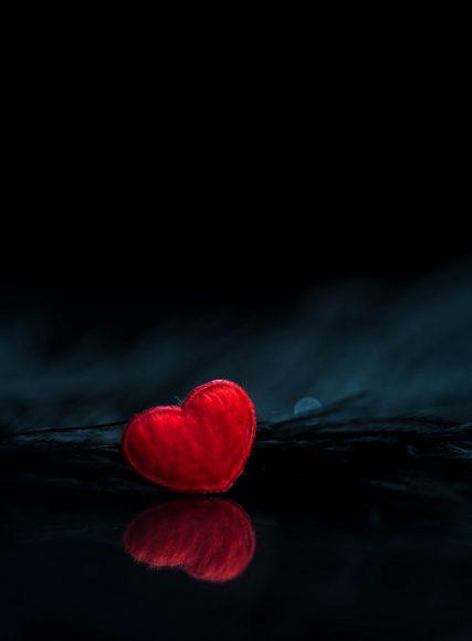 tải hình ảnh trái tim buồn cho điện thoại