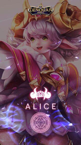 tải hình nền liên quân tướng Alice