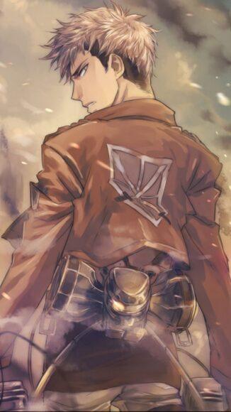 Ảnh Attack On Titan chàng trinh sát quả cảm Jean