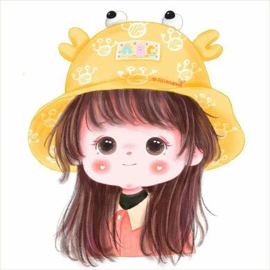 ảnh avatar cho con gái cute đẹp