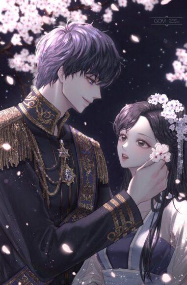 Hình ảnh anime đôi bí ẩn lãng mạn