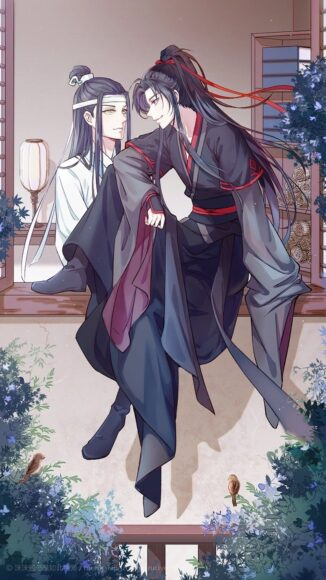 Hình ảnh anime đôi boy cổ trang ngầu nhất