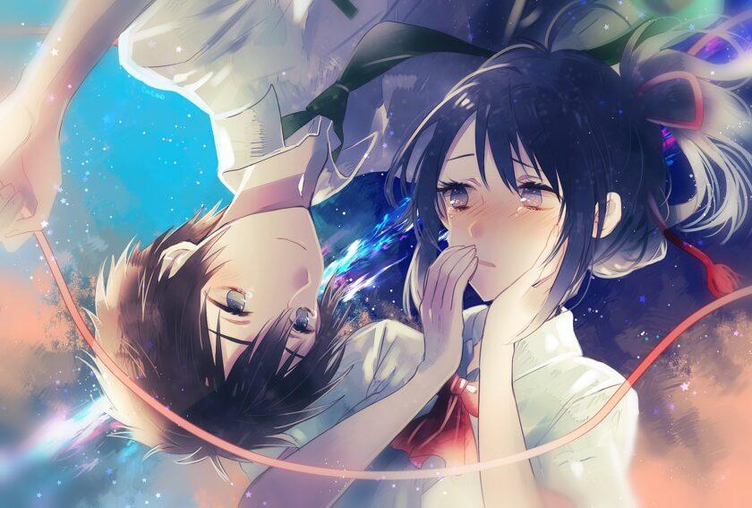 Hình ảnh anime đôi buồn, suy tư
