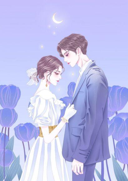 Hình ảnh anime đôi đám cưới đẹp lộng lẫy