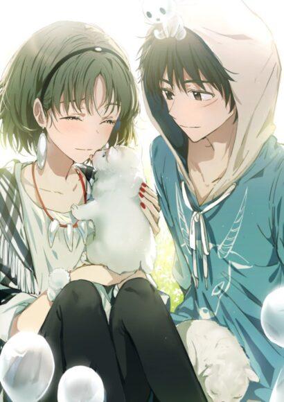 Hình ảnh anime đôi đáng yêu cute