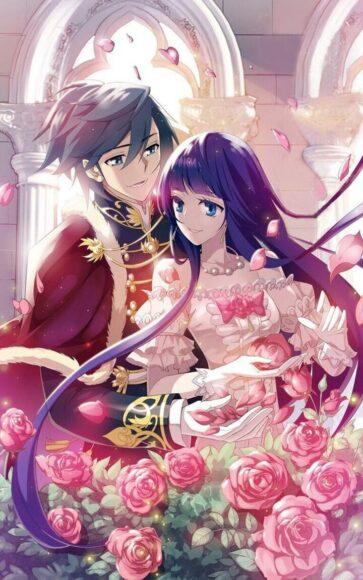 Hình ảnh anime đôi hoàng tử và công chúa