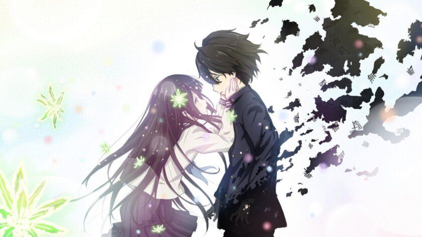 Hình ảnh anime đôi lãng mạn