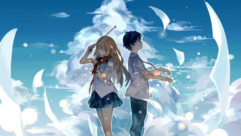 Hình ảnh anime đôi Yourname