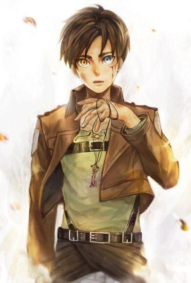 hình ảnh Eren trong Attack On Titan