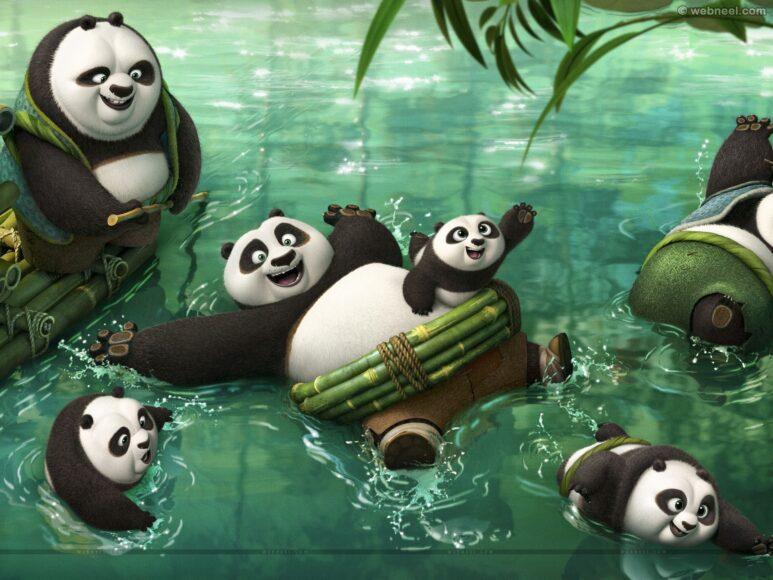 hình ảnh gấu trúc kungfu panda
